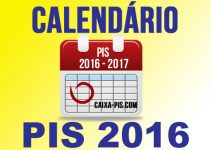 Tabela do PIS PASEP 2016
