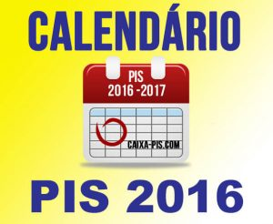 Tabela do PIS PASEP 2016