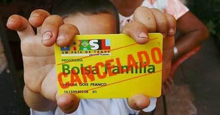 Cartão do Bolsa Família bloqueado