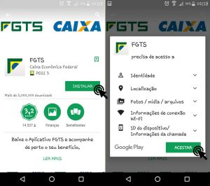 download app fundo de garantia para smartphones
