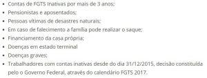 aplicativo FGTS contas inativas