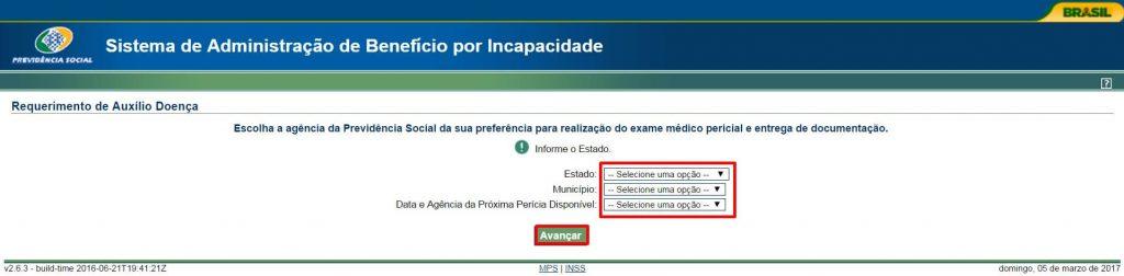 agendar pericia medica