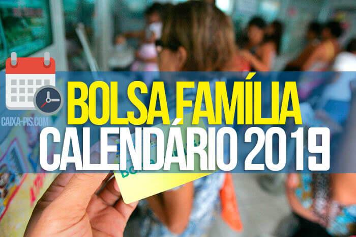 Calendario Bolsa Familia 2019 Final 9.Calendario Do Bolsa Familia 2019 Bolsa Familia 2019