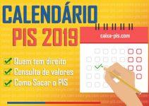 Tabela PIS 2019