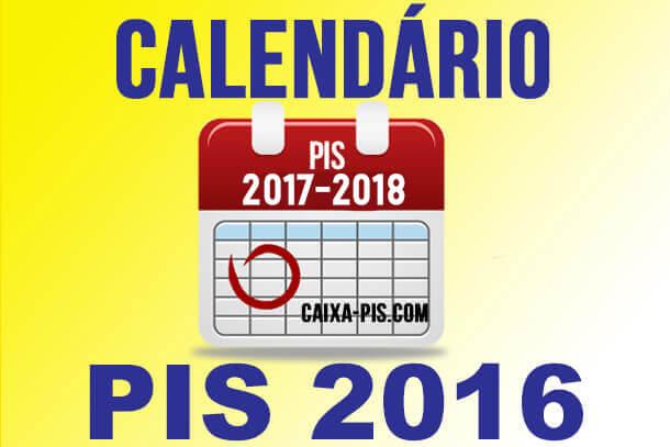 Tabela do PIS 2016