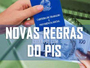 Novas regras para o PIS