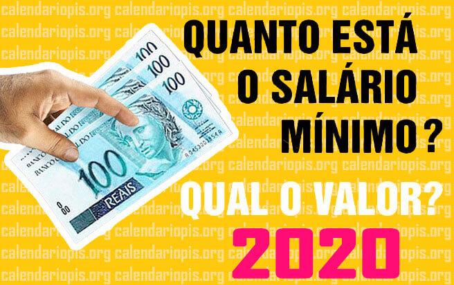 Valor do Salário Mínimo 2020