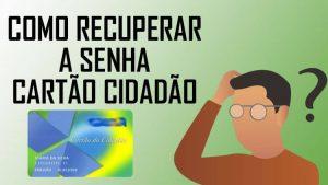 Como recuperar a senha e desbloquear Cartão Cidadão?
