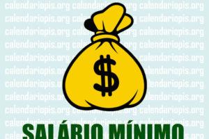Valor do Salario Minimo para 2020 no Brasil