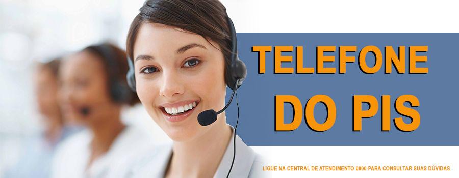 Qual é o telefone para consultar o PIS?